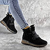 Ботинки женские зимние черные Kingsly 2302 (36 размер), фото 3