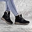 Ботинки женские зимние черные Kingsly 2302 (36 размер), фото 6