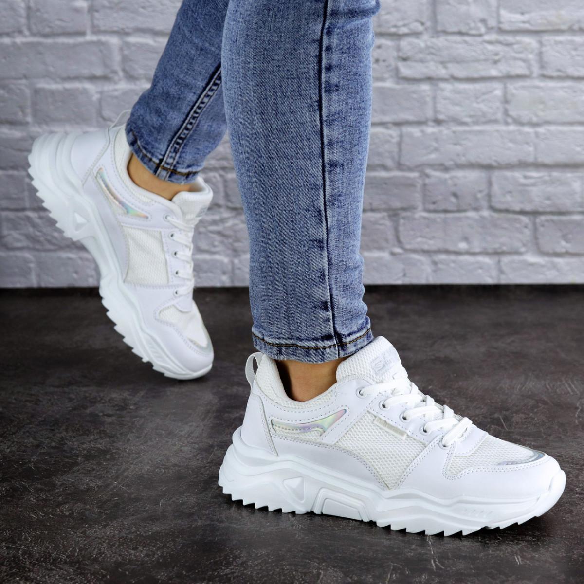 Женские кроссовки белые Doby 1938 (36 размер)