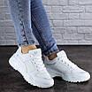 Женские кроссовки белые Doby 1938 (36 размер), фото 3