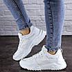 Женские кроссовки белые Doby 1938 (36 размер), фото 5