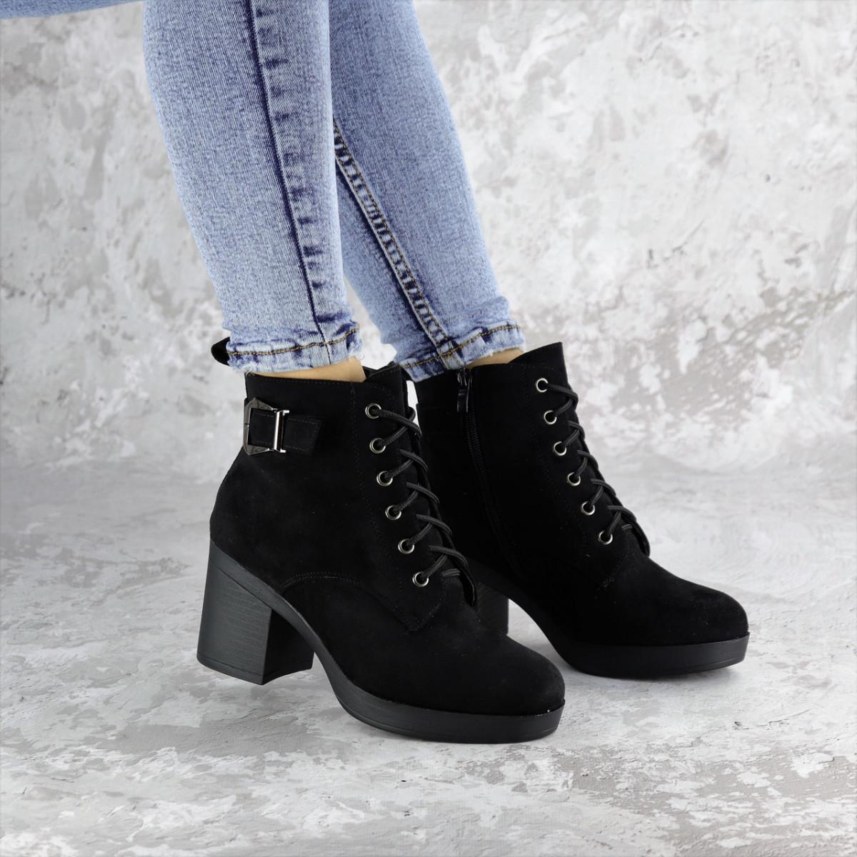 Ботинки женские зимние черные Lil 2320 (37 размер)