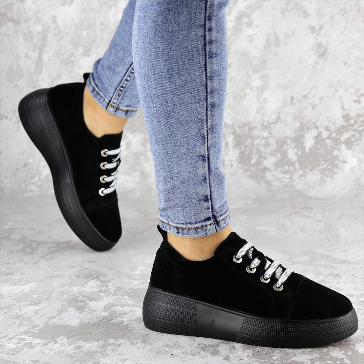 Кроссовки женские черные Callie 2184 (36 размер)