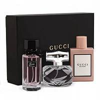 Подарунковий набір парфумів 3 в 1 (ліцензійна парфумерія) ТРОХИ ПРИМ'ЯТА КОРОБКА!