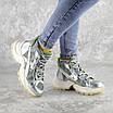 Ботинки женские серебристые Rowan 2395 (36 размер), фото 2
