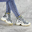 Ботинки женские серебристые Rowan 2395 (36 размер), фото 6