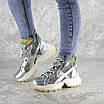 Ботинки женские серебристые Rowan 2395 (36 размер), фото 7
