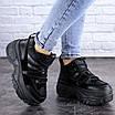 Кроссовки женские черные Cujo 2121 (36 размер), фото 3