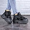 Кроссовки женские черные Cujo 2121 (36 размер), фото 4