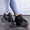 Кроссовки женские черные Cujo 2121 (36 размер), фото 5