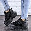 Кроссовки женские черные Cujo 2121 (36 размер), фото 6