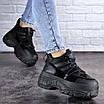 Кроссовки женские черные Cujo 2121 (36 размер), фото 7