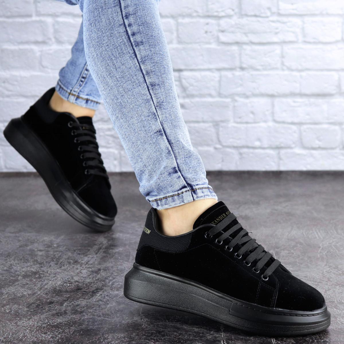 Кроссовки женские черные Hoosier 2132 (36 размер)