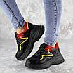 Кроссовки женские черные Noby 2138 (36 размер), фото 3