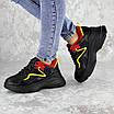 Кроссовки женские черные Noby 2138 (36 размер), фото 4