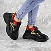 Кроссовки женские черные Noby 2138 (36 размер), фото 5