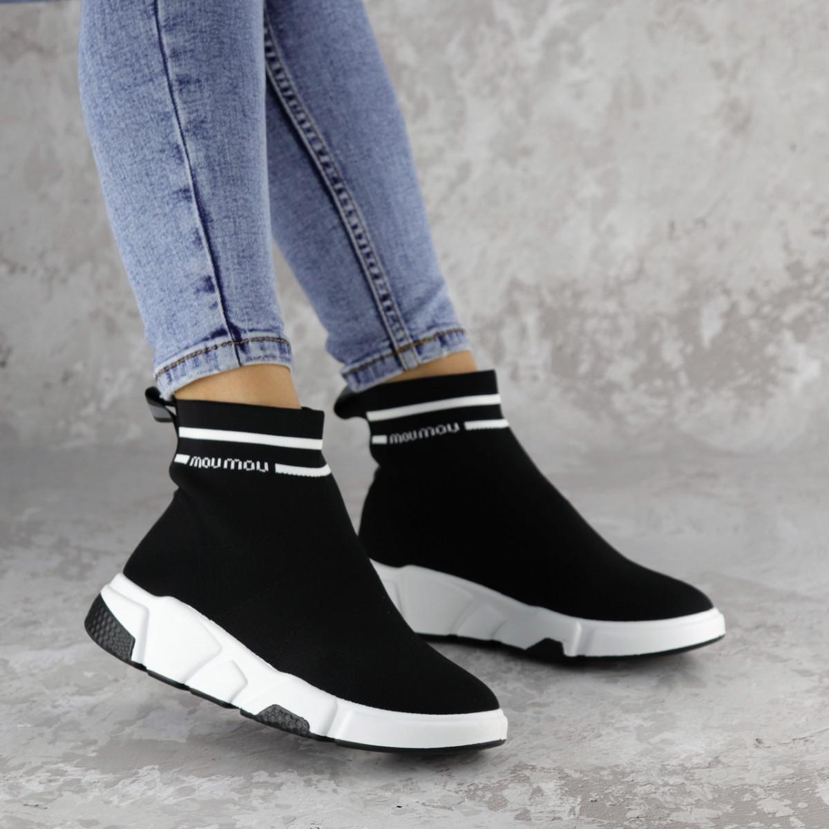 Кроссовки женские черные Sassy 2154 (37 размер)