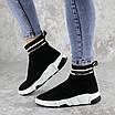 Кроссовки женские черные Sassy 2154 (37 размер), фото 3