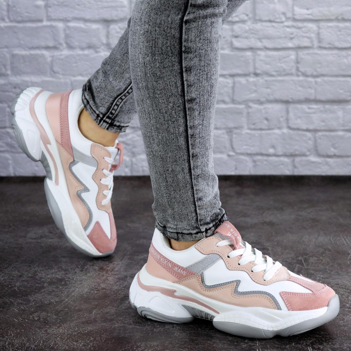 Женские кроссовки розовые Oprah 2000 (37 размер)