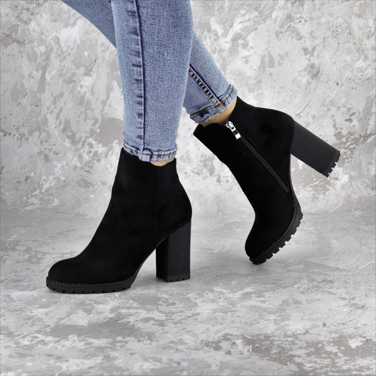 Ботинки женские черные Goliath 2281 (36 размер)