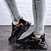 Женские кроссовки черные Apollo 1950 (37 размер), фото 5