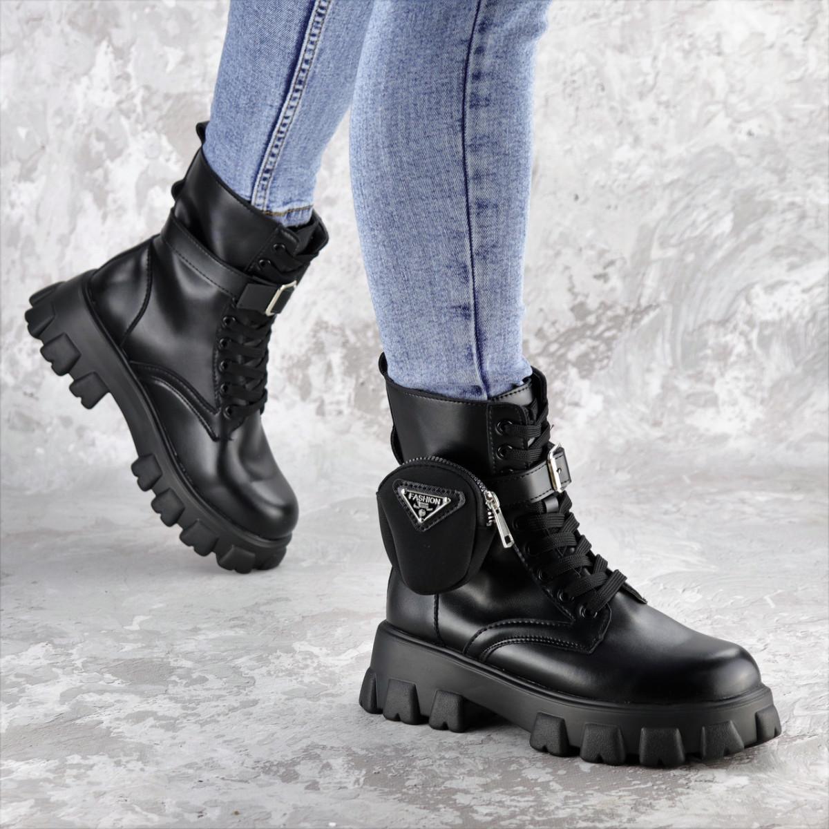 Ботинки женские черные Sondra 2401 (36 размер)