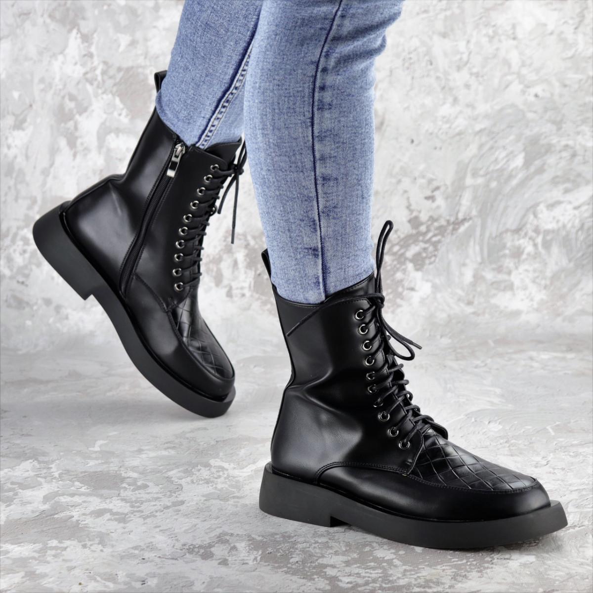 Ботинки женские черные Tootsie 2409 (36 размер)