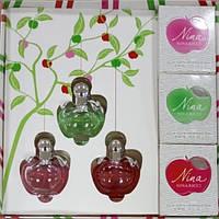 Набір жіночих парфумів Nina Ricci, 3*30 ml (ліцензійна парфумерія)