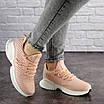 Женские пудровые кроссовки Pink 1129 (39 размер), фото 3