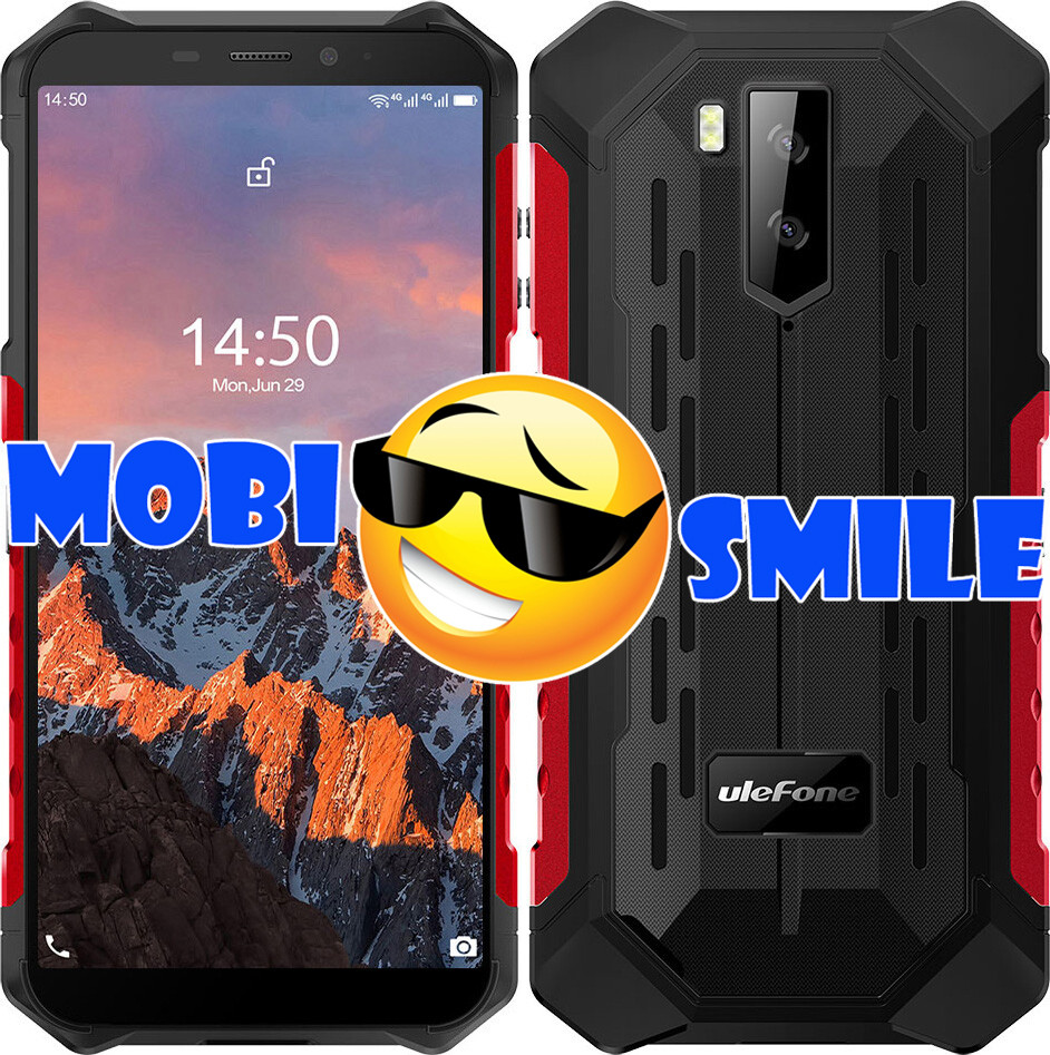 Смартфон Ulefone ARMOR X5 Pro 4/64Gb Red Гарантия 3 месяца