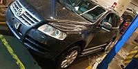 Боковые пороги Rainbow (2 шт., алюминий) Volkswagen Touareg 2002-2010 гг.