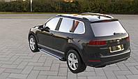 Боковые пороги Rainbow (2 шт., алюминий) Volkswagen Touareg 2010-2018 гг.