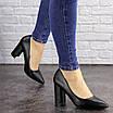 Туфли женские на каблуке черные Brandy 1601 (36 размер), фото 2