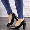 Туфли женские на каблуке черные Brandy 1601 (36 размер), фото 3