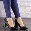 Туфли женские на каблуке черные Brandy 1601 (36 размер), фото 5