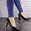 Туфли женские на каблуке черные Brandy 1601 (36 размер), фото 6