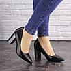 Туфли женские на каблуке черные Brandy 1601 (36 размер), фото 7