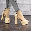 Женские стильные босоножки Kassie на каблуке 1193 (37 размер), фото 2