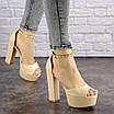 Женские стильные босоножки Kassie на каблуке 1193 (37 размер), фото 4