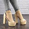 Женские стильные босоножки Kassie на каблуке 1193 (37 размер), фото 7