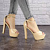 Женские стильные босоножки Rosebud на каблуке 1124 (37 размер), фото 4