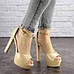 Женские стильные босоножки Rosebud на каблуке 1124 (37 размер), фото 5