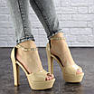 Женские стильные босоножки Rosebud на каблуке 1124 (37 размер), фото 6