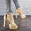 Женские стильные босоножки Rosebud на каблуке 1124 (37 размер), фото 7