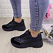 Женские стильные кроссовки Ella темно синие 1096 (38 размер), фото 2