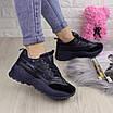 Женские стильные кроссовки Ella темно синие 1096 (38 размер), фото 4