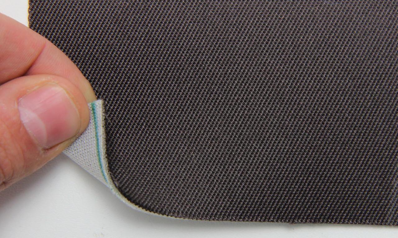 Автоткань оригинальная для боков сидений (темно-коричневой 7413/5), основа на поролоне, толщина 1мм, шир 140см