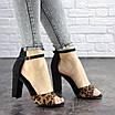 Женские стильные леопардовые босоножки Jayden на каблуке 1178 (40 размер), фото 5