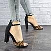 Женские стильные леопардовые босоножки Jayden на каблуке 1178 (40 размер), фото 6