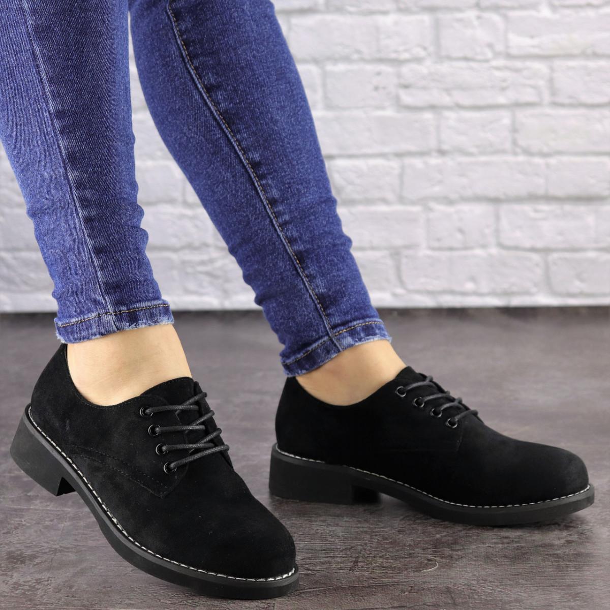 Женские туфли Oreo черные 1465 (38 размер)